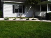 Big C Lawn and Landscaping - Decorative Crushed White Stone Beds, 2014 - 10