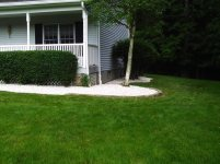 Big C Lawn and Landscaping - Decorative Crushed White Stone Beds, 2014 - 11