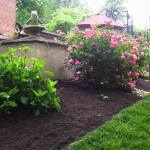 Big C Lawn and Landscaping - Mulch Bed w/ River Rock Borders - Spring Cleanup, 2014 - 5