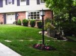 Big C Lawn and Landscaping - Mulch & Spring Cleanup w/ River Rock, 2014 - 7
