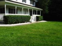 Big C Lawn and Landscaping - Decorative Crushed White Stone Beds, 2014 - 9