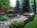 Big C Lawn and Landscaping - River Rock Drainage w/ Assorted Stones, 2014 - 25