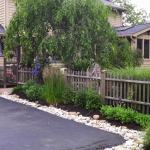 Big C Lawn and Landscaping - River Rock Mulch Bed - Spring Cleanup, 2014 - 27