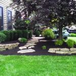 Big C Lawn and Landscaping - Stone Retaining Walls w/ Mulch Beds - Spring Cleanup, 2014 - 31