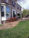 Big C Lawn and Landscaping - Pine Straw Mulch Job (Before), 2014 - 40