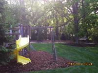Big C Lawn and Landscaping - Swing Set Wood Chip Mulch - Spring Cleanup, 2015 - 84
