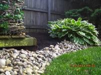Big C Lawn and Landscaping - River Rock and Mulch - Spring Cleanup, 2015 - 88