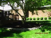Big C Lawn and Landscaping - Block Retaining Wall and Mulch - Spring Cleanup, 2015 - 96