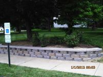 Big C Lawn and Landscaping - Diamond Block Retaining Wall, 2015 - 101
