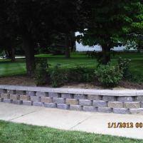 Big C Lawn and Landscaping - Diamond Block Retaining Wall, 2015 - 101